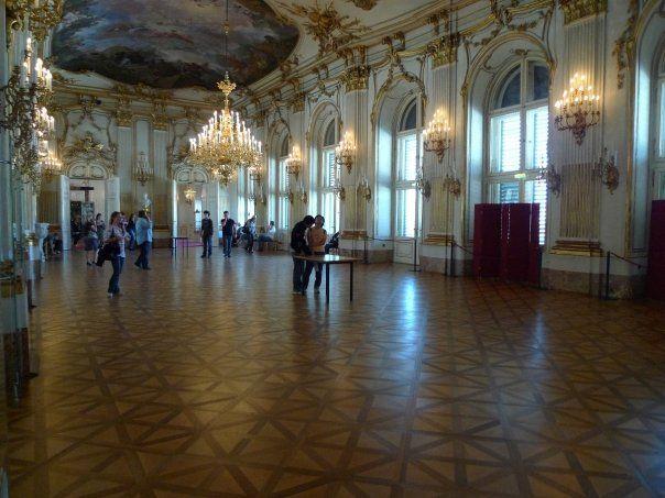 interieur chateau vienne