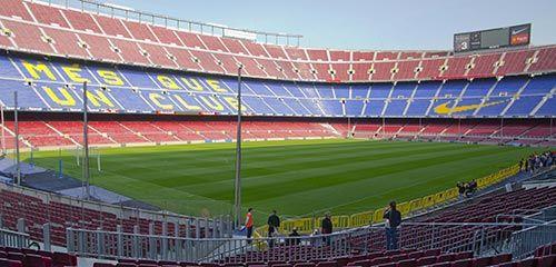 camp nou stade à barcelone