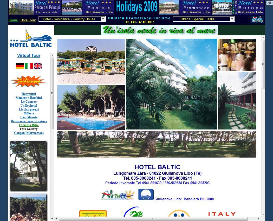 Vacances italie adriatique famille