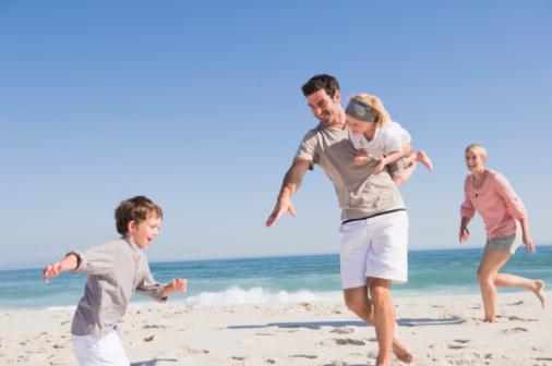 Vacances italie famille