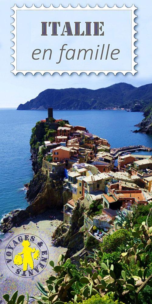 Voyage en italie en famille