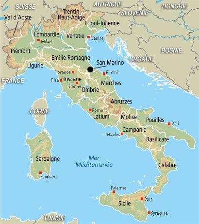 Voyage italie avril 2016