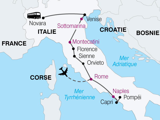 Circuit italie