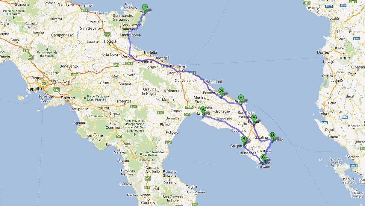 Voyage en italie du sud