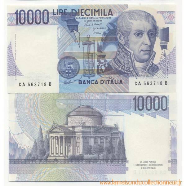 Billet italie