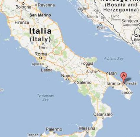 Sud de l italie