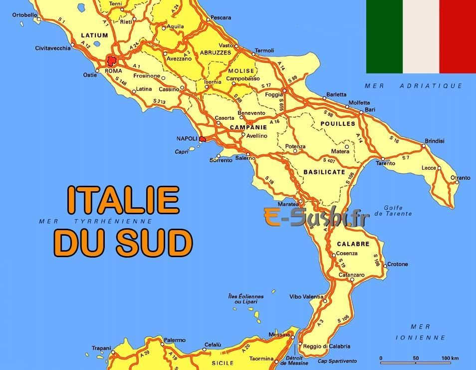 Sud italie voyage