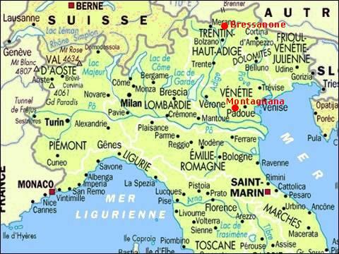 Vacances italie du nord