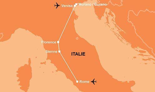 Circuit visite italie