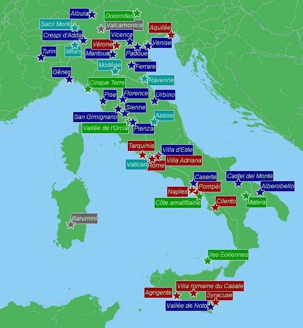 Italie du nord tourisme