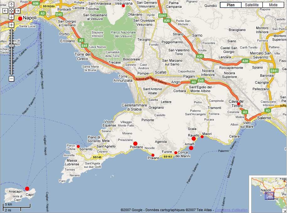 Voyage circuit italie