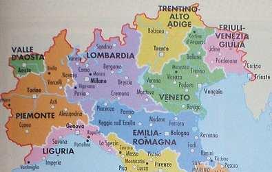 Vacances nord de l italie