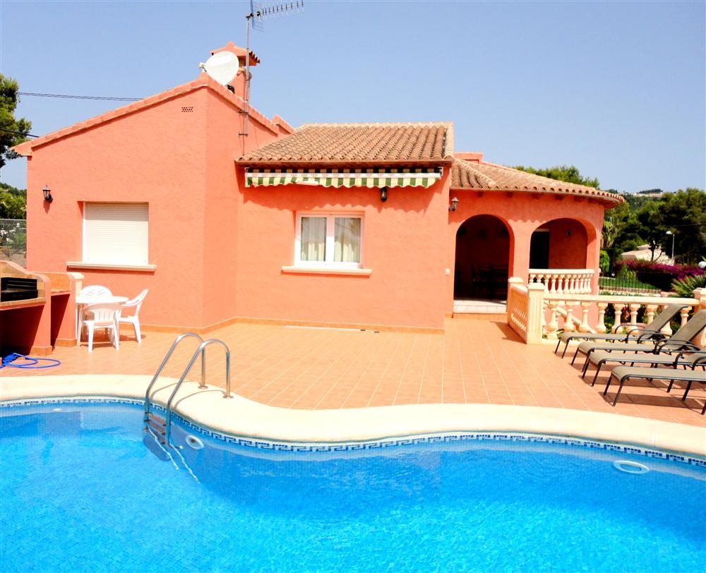 Location de villa en espagne avec piscine