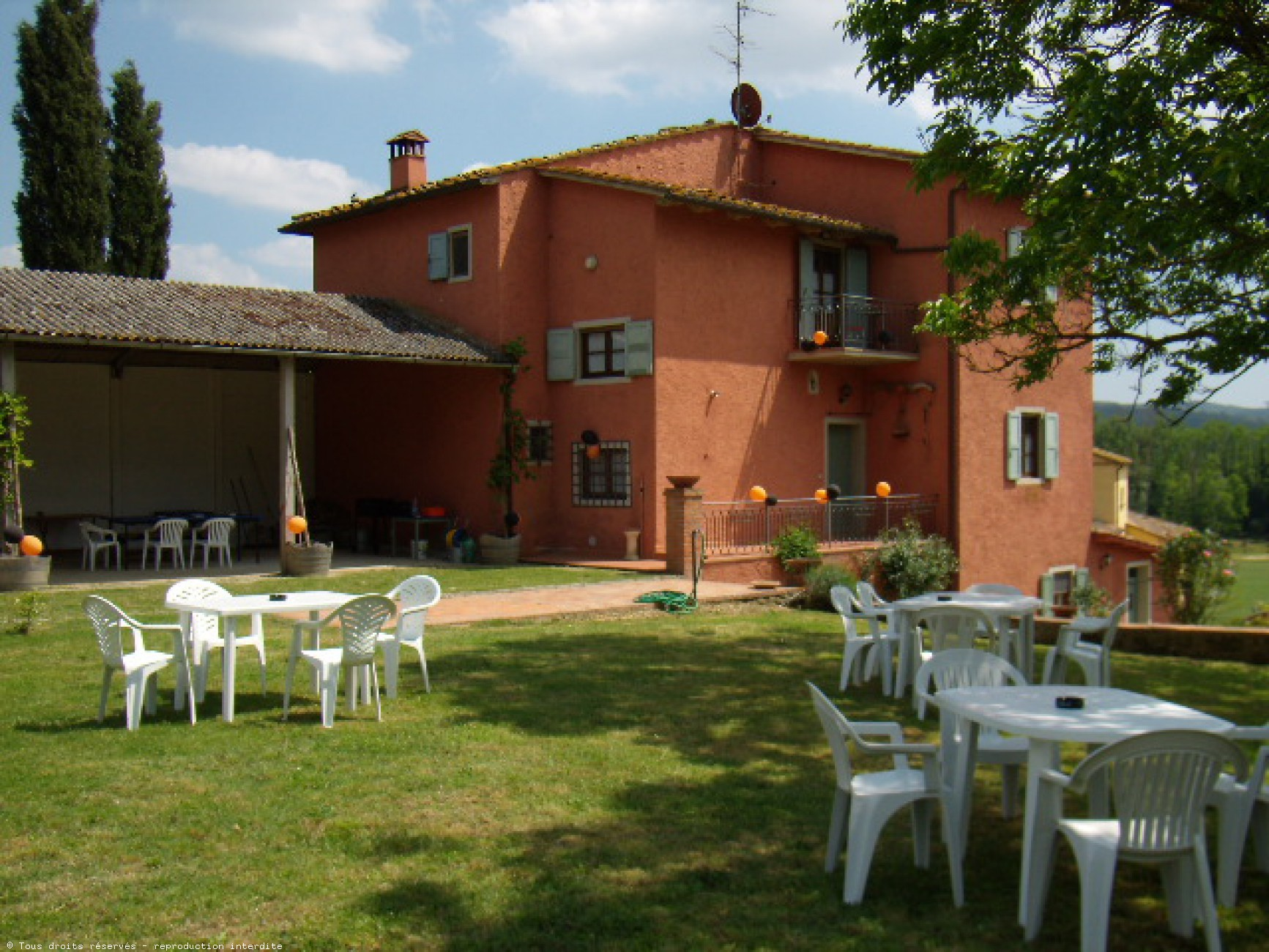Location de maison en italie