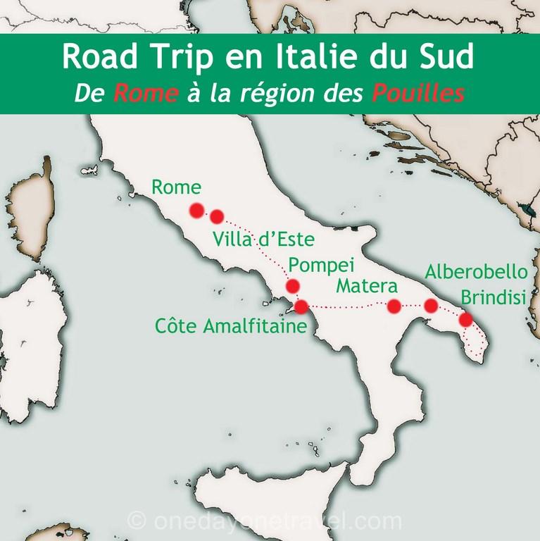 Circuit italie 15 jours