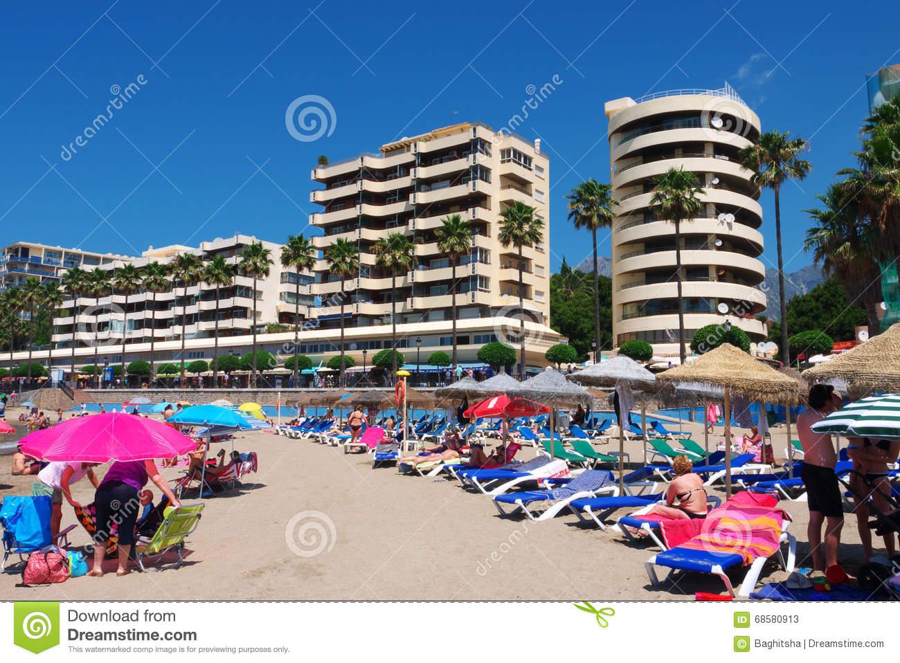 Vacances plage espagne