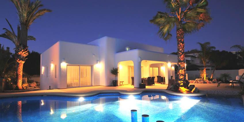 Location en espagne maison avec piscine
