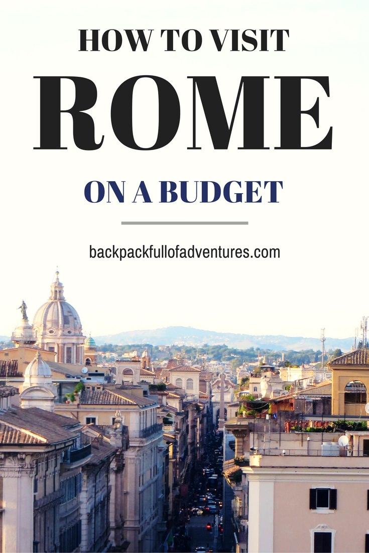 Budget vacances italie