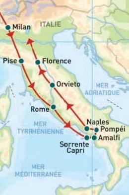 Voyage sud italie