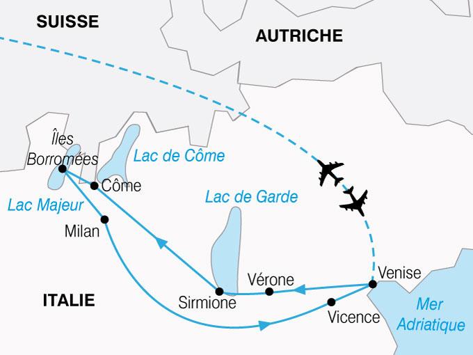 circuit nord de l italie sejour detente italie experience voyage. Black Bedroom Furniture Sets. Home Design Ideas
