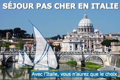 Voyage italie tout inclus
